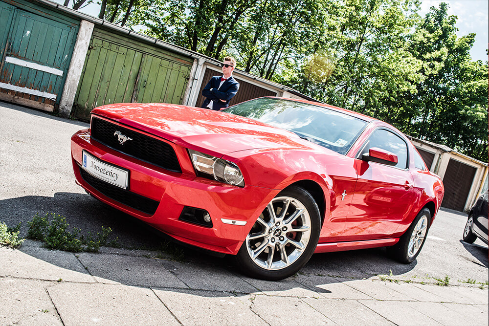 Mustang gotowy na wesele